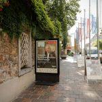 Pobuda za odstranitev oglasnih panojev v mestnem jedru Ljubljane