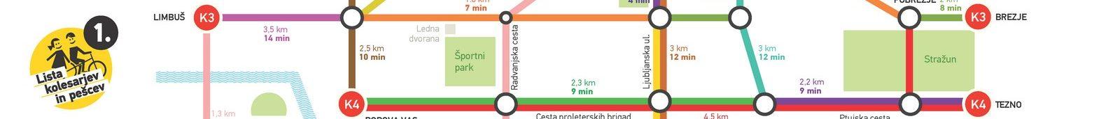 Kolesarski zemljevid za Maribor!