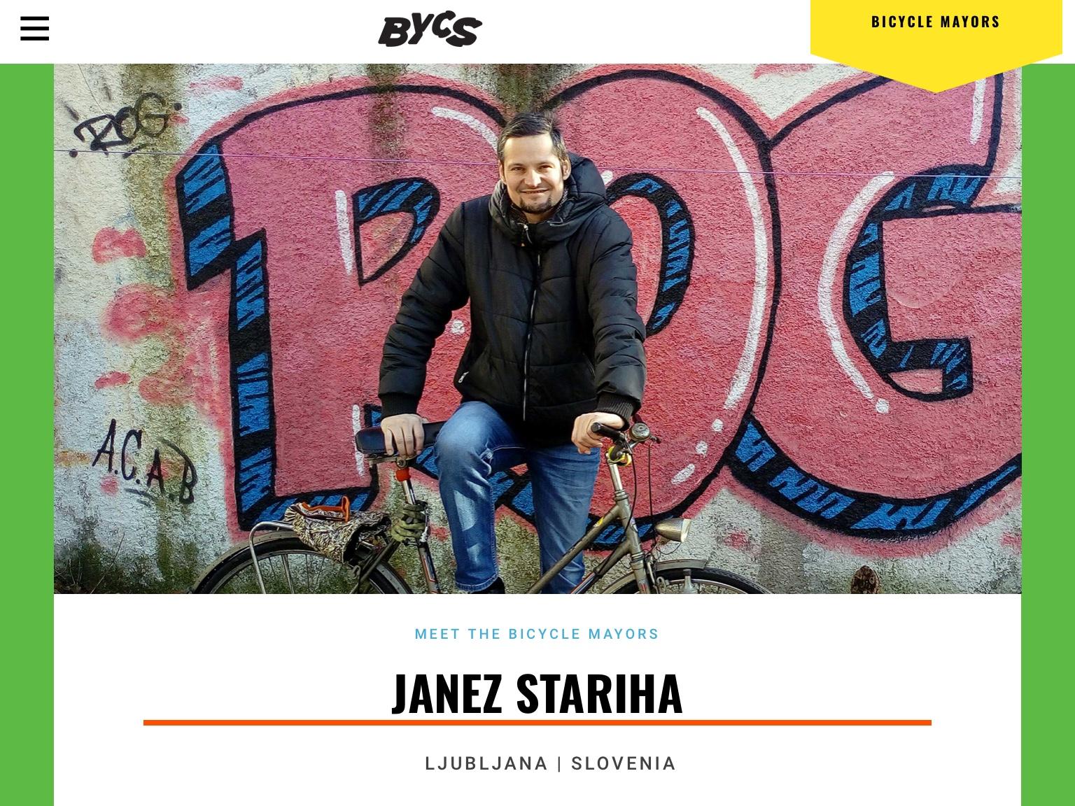 Lista kolesarjev in pešcev dobila prvega župana