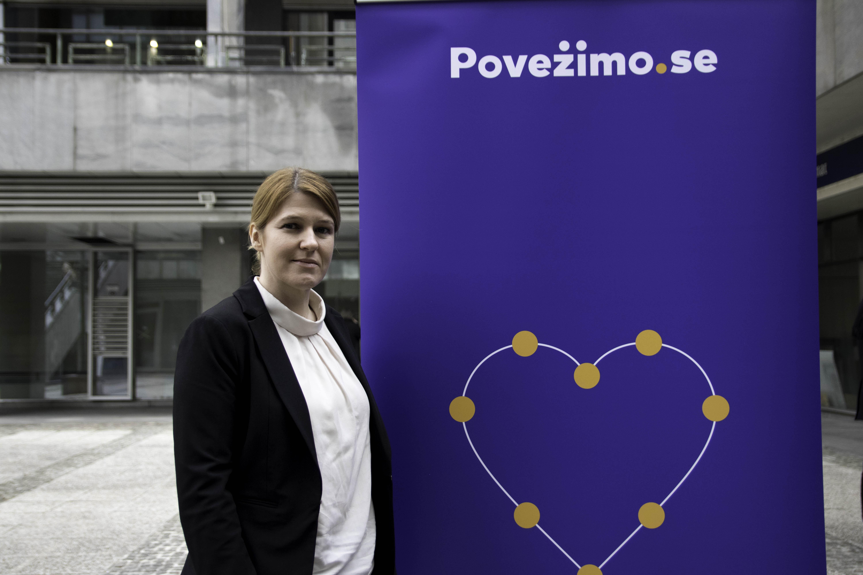Urša Zgojznik gre z listo Povežimo se na evropske volitve 2019