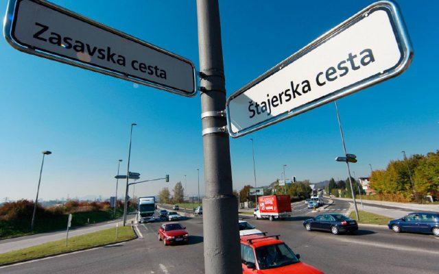 Pobuda za ureditev začasne kolesarske steze na Štajerski cesti v Ljubljani