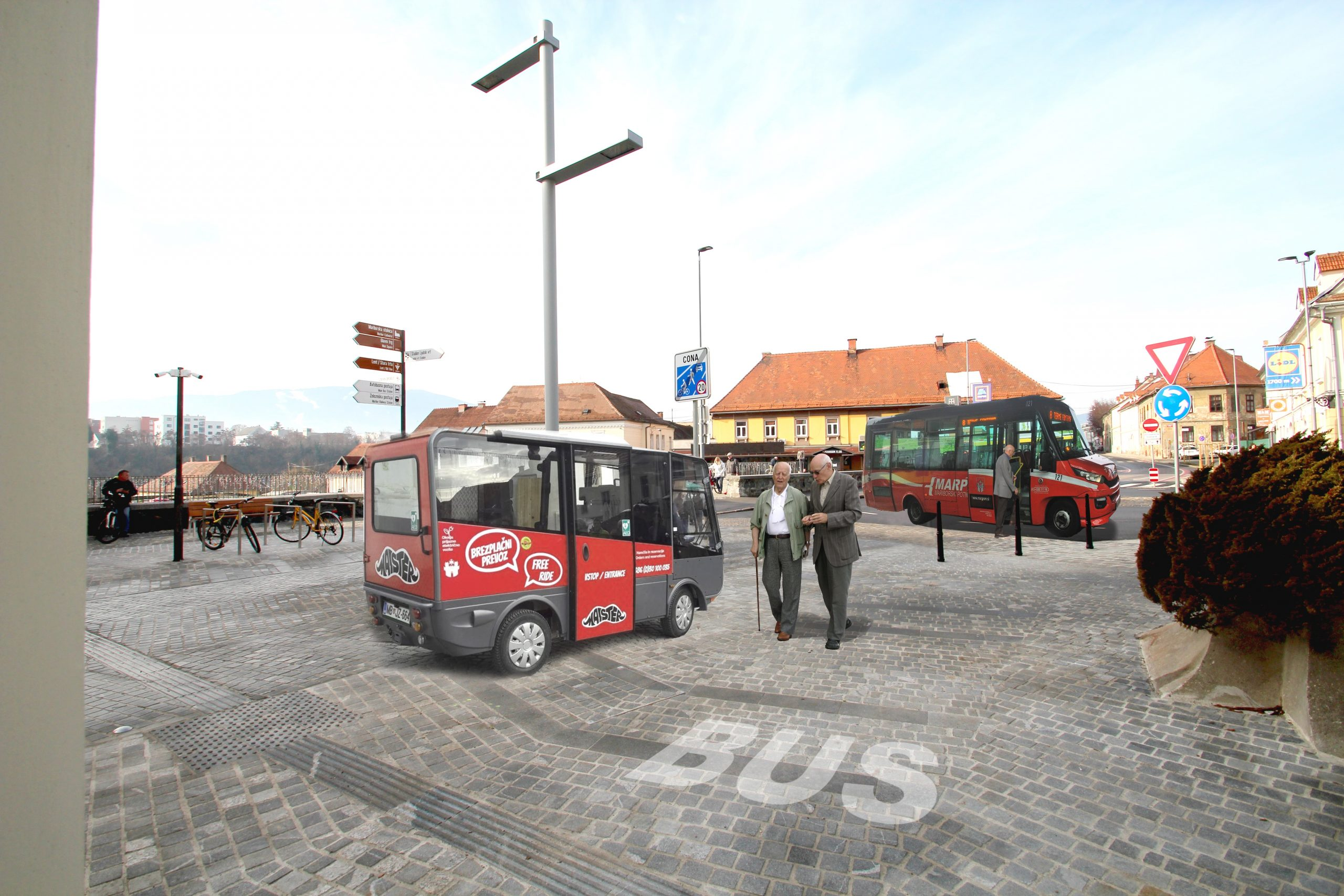 Zelena linija mb bus